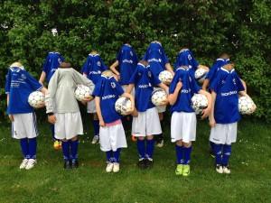 Hovedløse fodbold U-10 piger