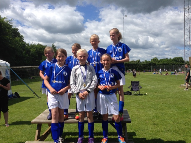 fodbold U11 piger