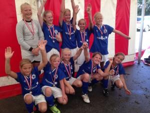 Fodbold U12 piger Jels 2014