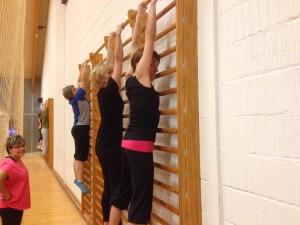 Gymnastik i ribber