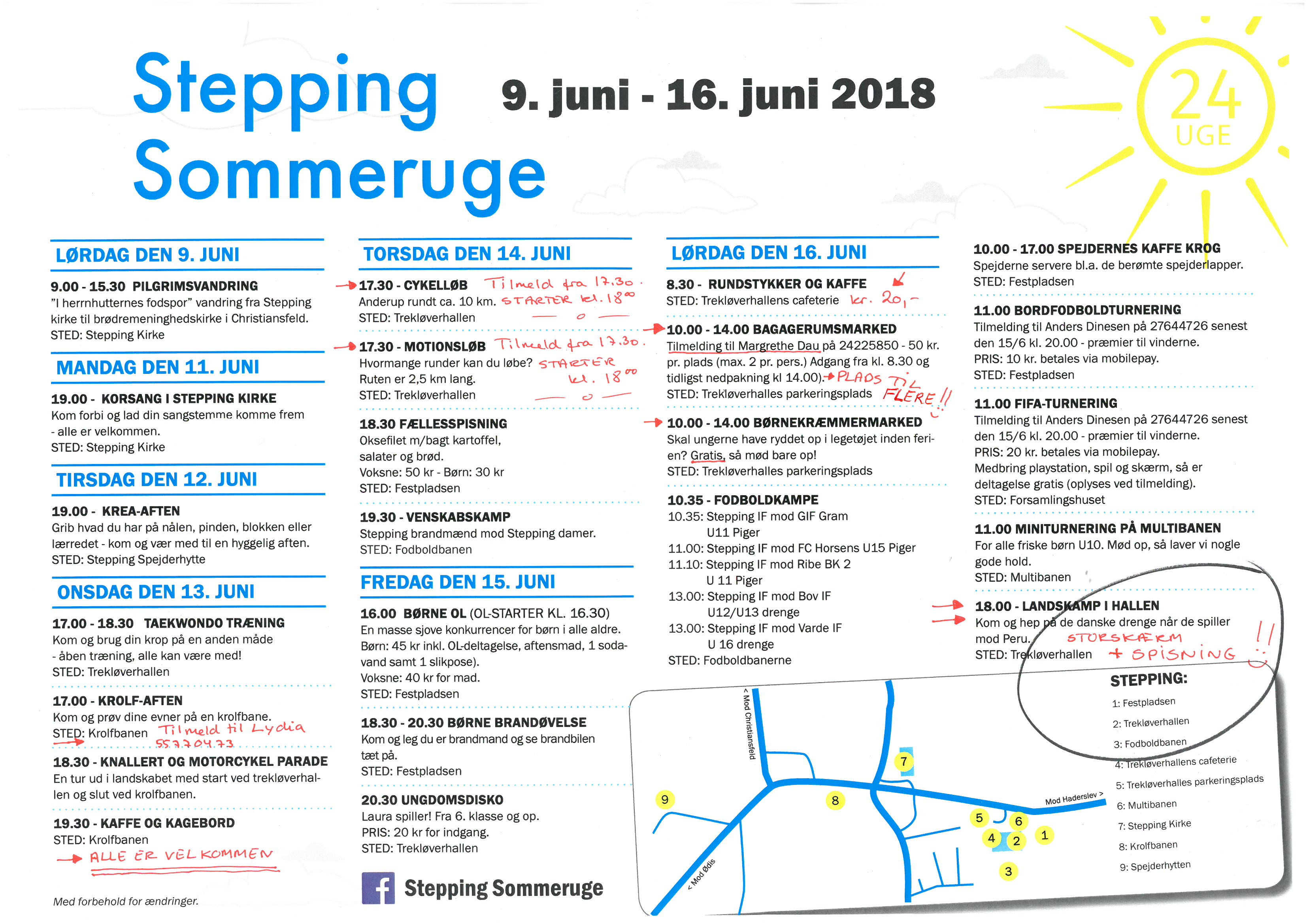 Stepping Sommeruge Program