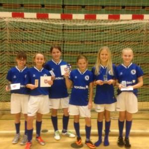 Fodbold 2015 - piger U12