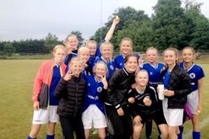 U13 fodbold piger